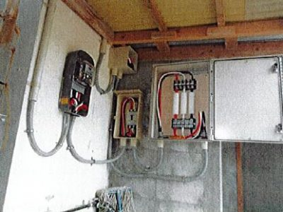 電磁波低減装置 導入事例
